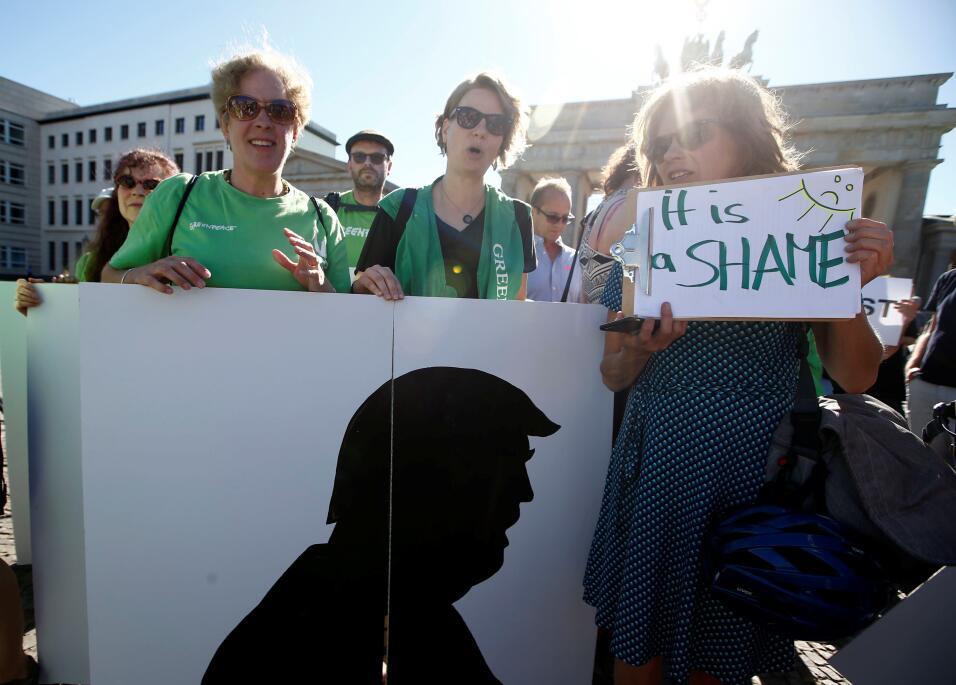 Protesta Trump Paris