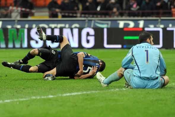 Motta agregó otro más y el Inter ganó 3-0 para mantener el liderato.