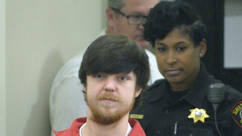Ethan Couch es llevado a una corte en Firt Worth, Texas, para una audien...
