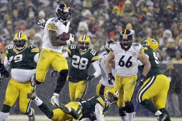Le'Veon Bell anotó el touchdown del triunfo de Steelers 38 a 31 sobre Pa...
