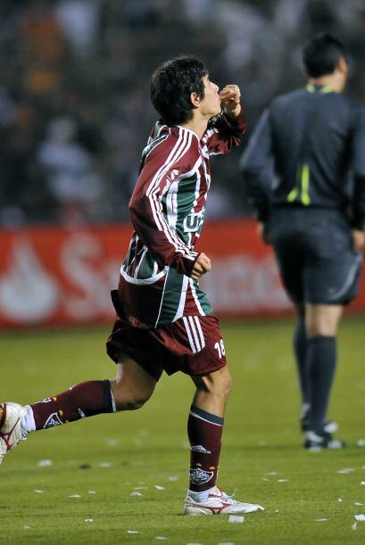 Darío Conca del Fluminense fue elegido el mejor jugador de Brasil por lo...
