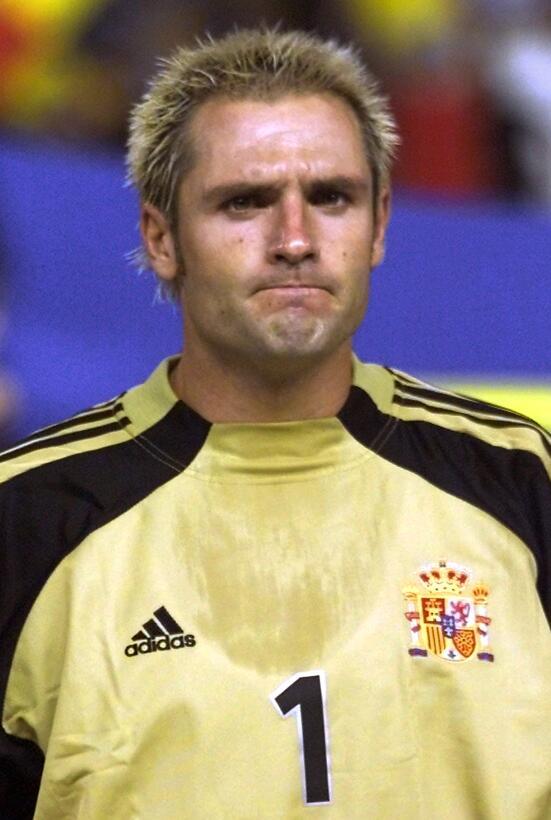 Portero: Santiago Cañizares (España) - Corea y Japón 2002