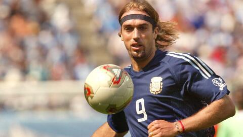 Batistuta definió a Messi como 'marciano'