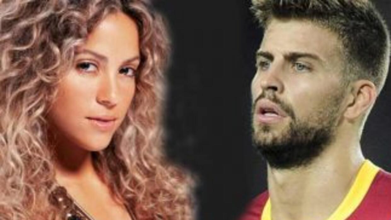 Afirman que Shakira y Piqué se dieron un par de besos.