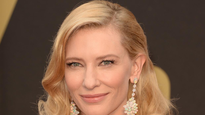 """Cate Blanchett está nominada por su papel en la cinta """"Carol""""."""