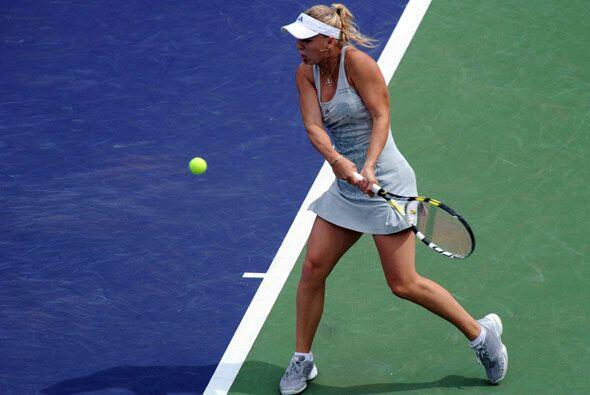 No hay que perderle la atención a Caroline Wozniacki que es una gran pro...