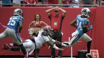 Highlights Temporada 2015 S4: Carolina Panthers 37-23 Tampa Bay Buccaneers