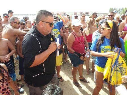 Este fin de semana los BEACH HITS de KQ 105 estuvieron lleno de mucha di...