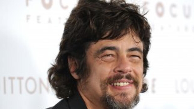Benicio del Toro y la hija modelo del rockero Rod Stewart, Kimberly, esp...