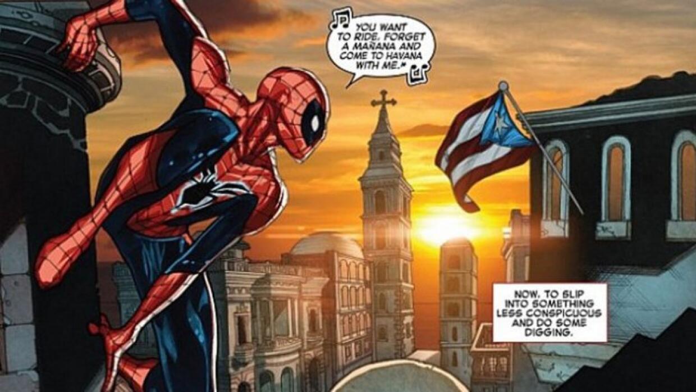 Marvel confunde bandera de Puerto Rico y Cuba
