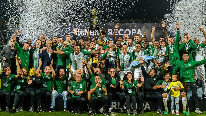 Atlético Nacional venció 4-1 a Chapecoense