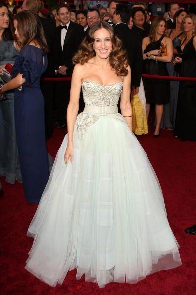 En 2009, Sarah Jessica Parker lució como toda una princesa con este vest...