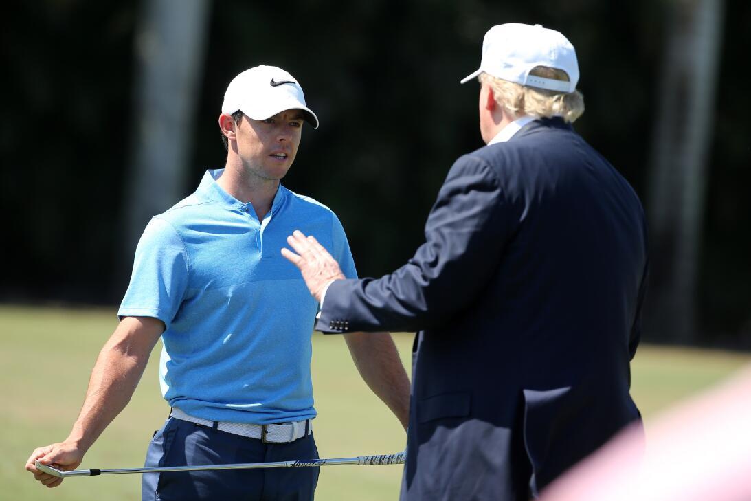 Los amigos de Donald Trump en el golf internacional gettyimages-51404023...
