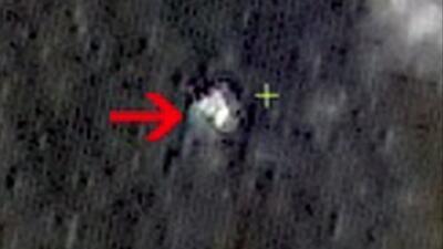 Satélite chino capta imagen que podría ser de avión de Malaysia Airlines