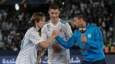 Modric, CR7 y Urretaviscaya, los tres mejores jugadores del Mundial de Clubes