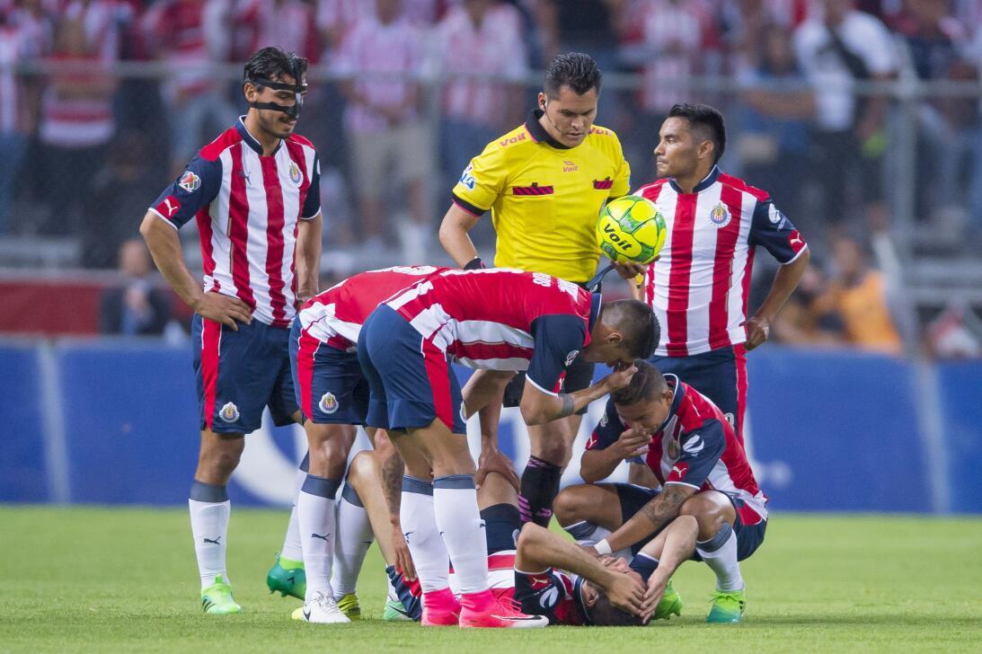 Chivas no pudo y Atlas se lo lleva por la mínima Lesion Jair Pereira Chi...