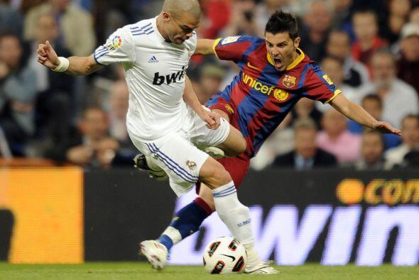 Pepe se convirtió en uno de los mejores jugadores sobre el terreno.