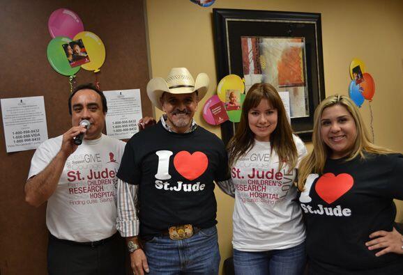 El Alcalde de la Ciudad de Rio Grande City, TX pasó la tarde en el Radio...