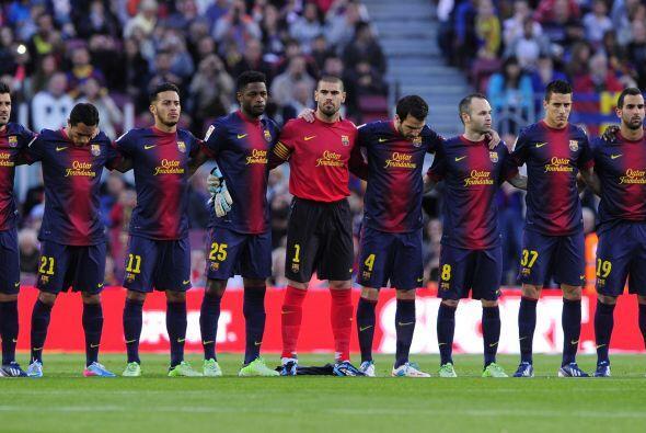 Se guardó un minuto de silencio en todos los estadios de España en homen...
