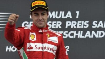 Fernando Alonso se subió a lo más alto del podio en Hockenheim y tras el...