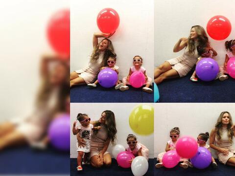 Lola Ponce y sus hijas