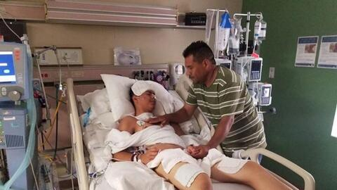 Brandon Rodrigo Martínez, one of the survivors of the tragedy tha...
