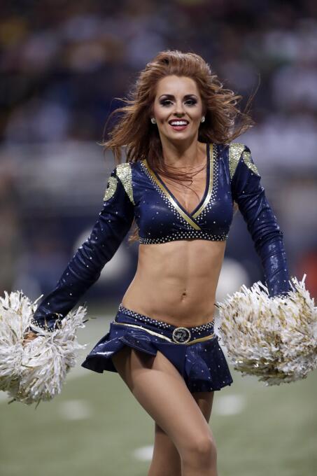 Si de falditas se trata, las de las porristas de la NFL son ¡las más can...
