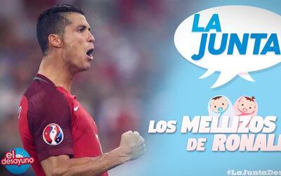 Cristiano Ronaldo tiene dos razones más para celebrar el día de los padres