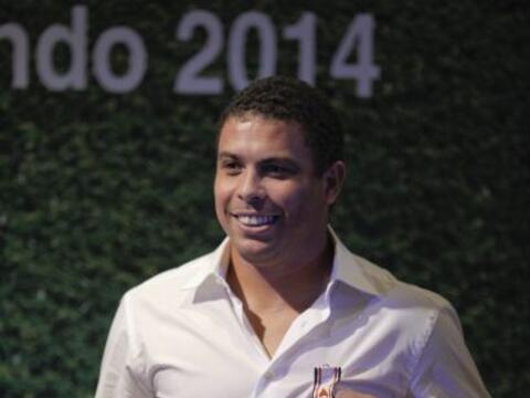 Ronaldo fue condecorado en Sao Paulo con la medalla al Mérito Dep...