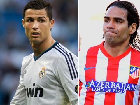 (Con información de EFE) Cristiano Ronaldo y Radamel Falcao, arra...
