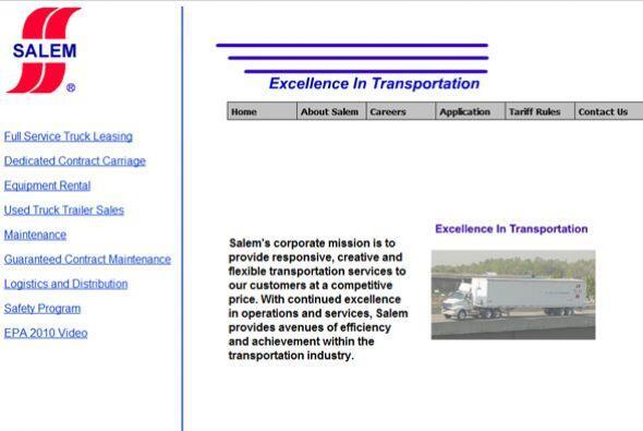 15. Salem Carriers  Sector de la industria: Transporte/logística.  Ejemp...