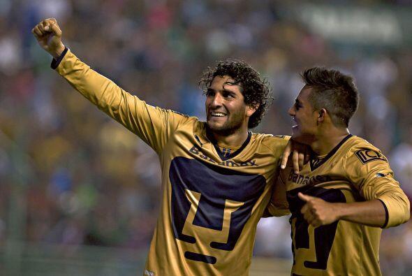 Aunque claro, la ventaja parece tenerla el goleador de Pumas que con sei...