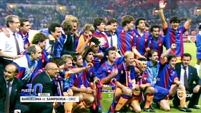 Los 10 mejores | Barcelona ganó su primera Champions en una final dramática ante la Sampdoria