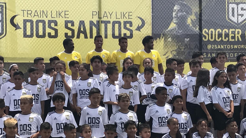 Dos Santos camp in LA