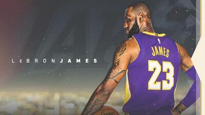 Lakers hace oficial la llegada de LeBron James