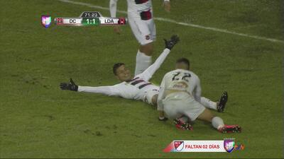 Johan Venegas empata el marcador para el Alajuelense