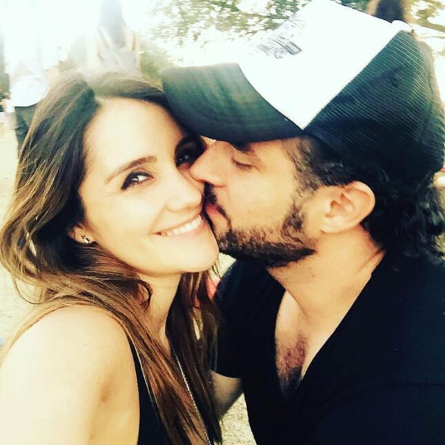 Twitter | Univision Dulce María y su novio Paco Álvarez.