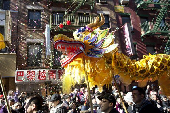 ¡Llegó el Año Nuevo Chino y Nueva York no fue la excepción en celebrar!