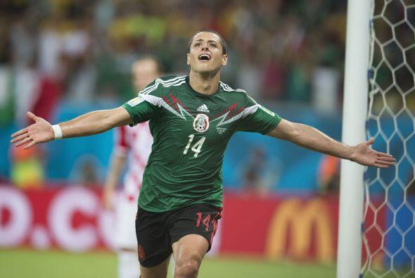 Javier Hernández ha jugado con la selección mexicana desde el 2009 y se...