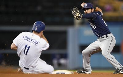 Padres y Dodgers son rivales de la División Oeste de la Liga Naci...