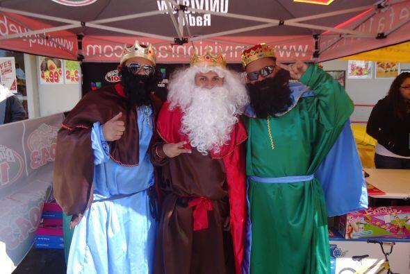 Miles de chiquitines celebraron el día de Los Reyes Magos con  La...