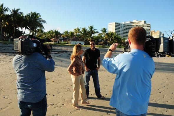 Ricky Martin habló a fondo con la periodista sobre su vida y su nuevo li...