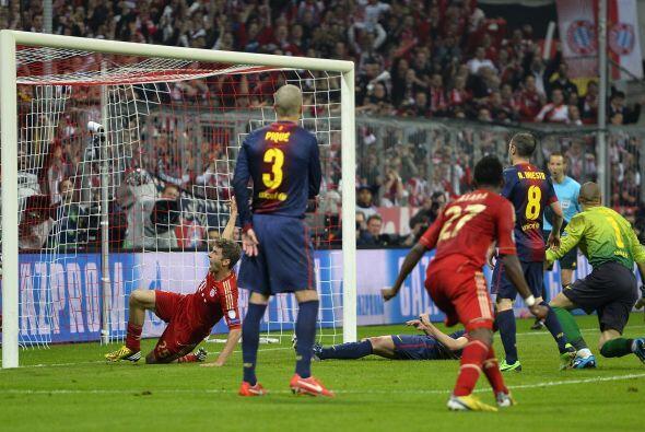 Por si no era suficiente, llegaría el cuarto gol en una goleada que ya r...