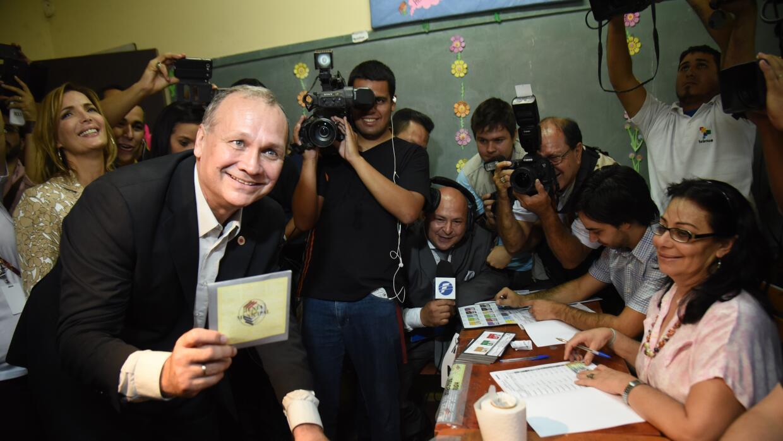 Mario Ferreiro ganó la alcaldía de Asunción con 51% de los votos.