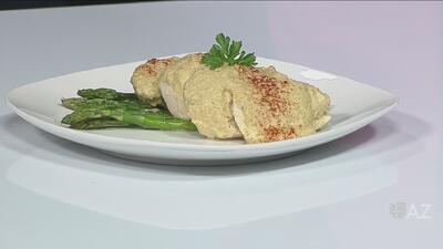 Sazón casero: pechugas de pollo en salsa de cacahuate