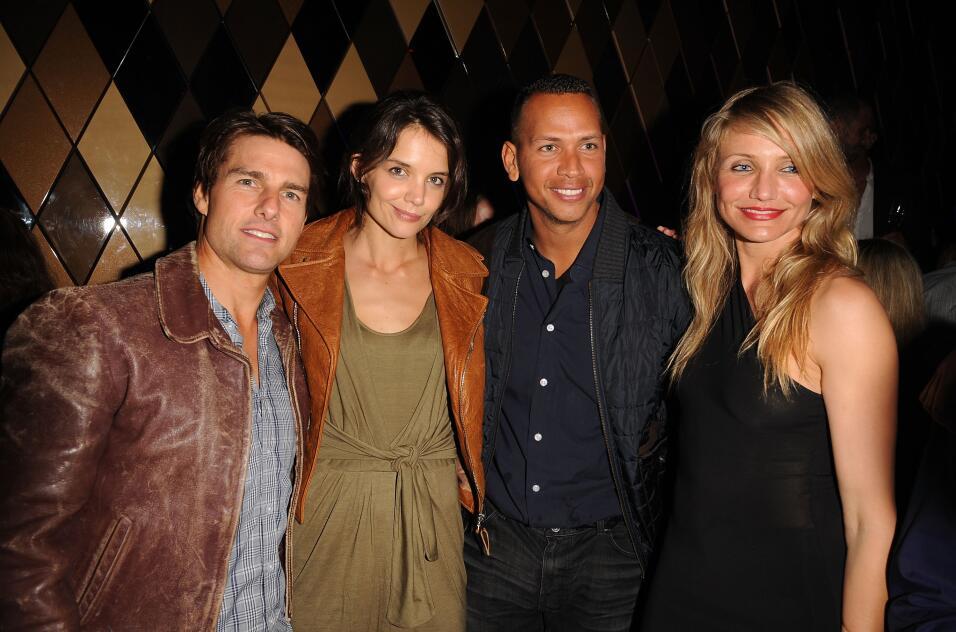 Tom Cruise, Katie Holmes, Alex Rodriguez y Cameron Díaz