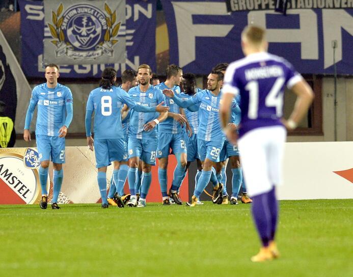 Austria Viena 1-3 Rijeka: la escuadra croata sumó sus primeros 3 puntos...