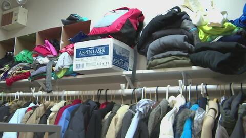 La secundaria Eisenhower instala en la escuela un cuarto de lavandería y...