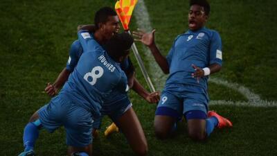 Fiyi dio la gran sorpresa.