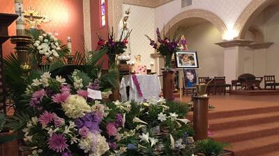 Despiden a Isabel Celis la niña que desapareció de su hogar en Tucson
